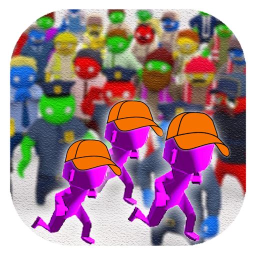 Crowd War Battle on the City