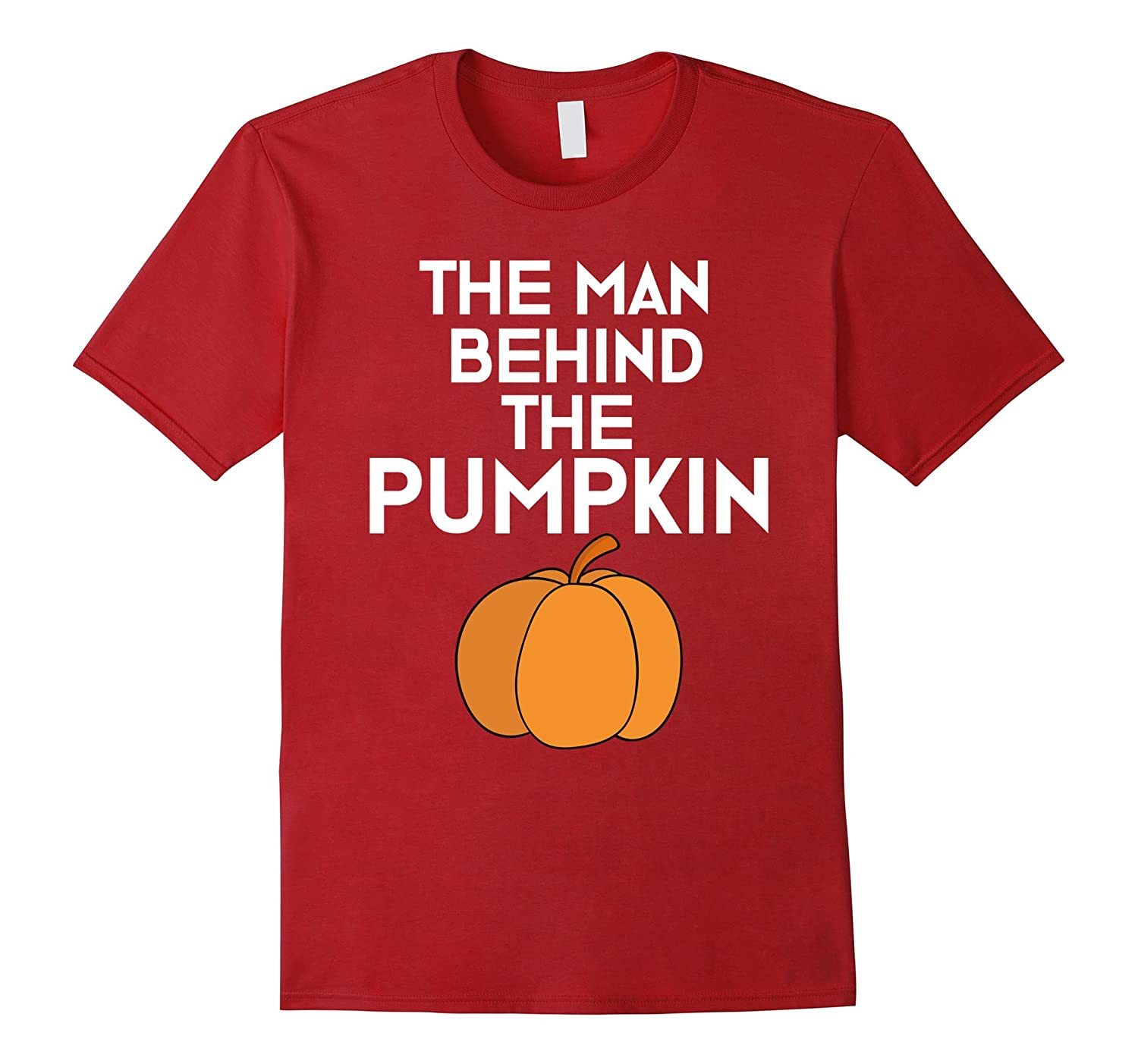 The Man Behind the Pumpkin T-Shirt for Expecting Dads Father-FL