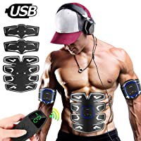 Deals on 8-Pack UNOSEKS Abs Muscle Stimulator
