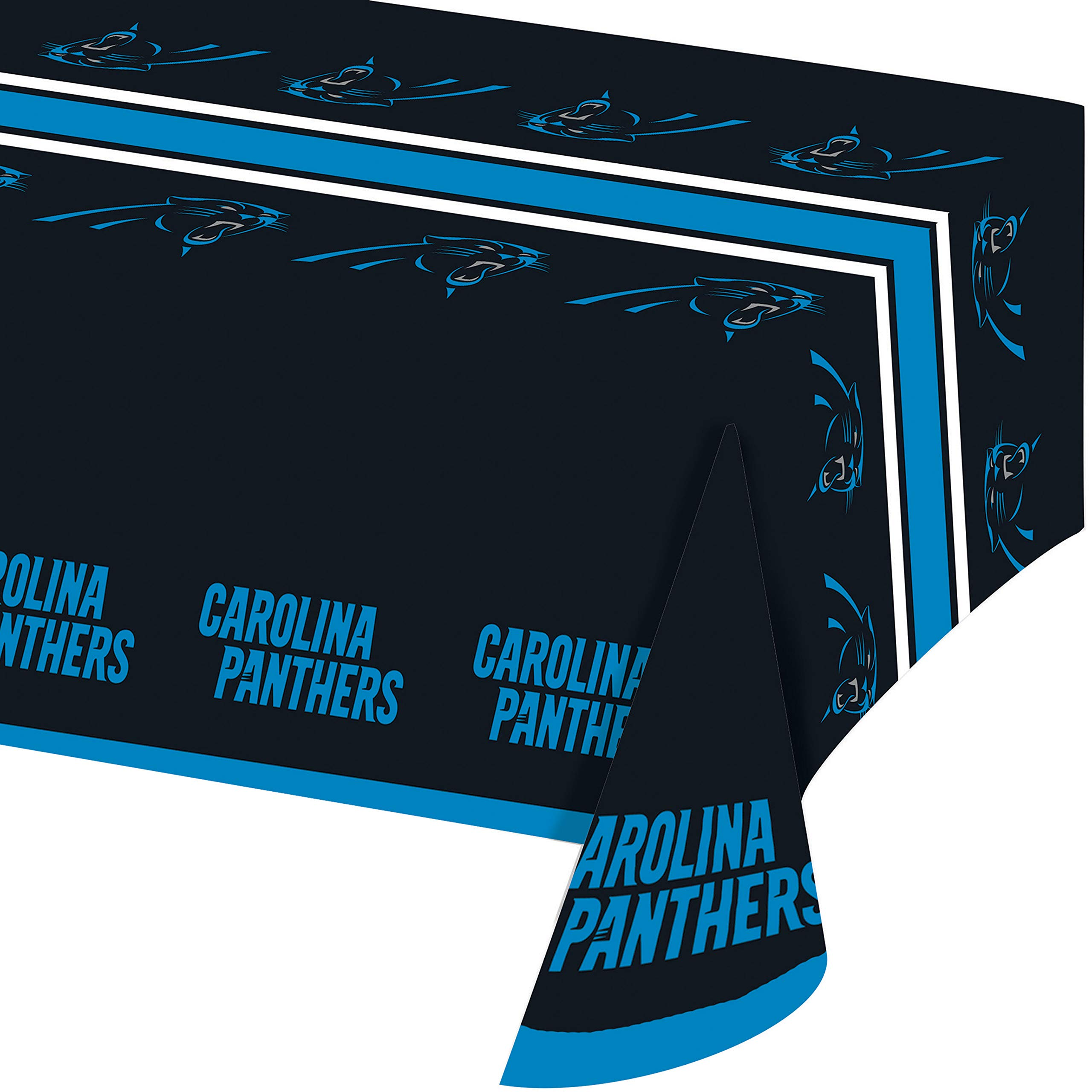 Carolina Panther Plastic Tablecloths, 3 ct by Creative Converting