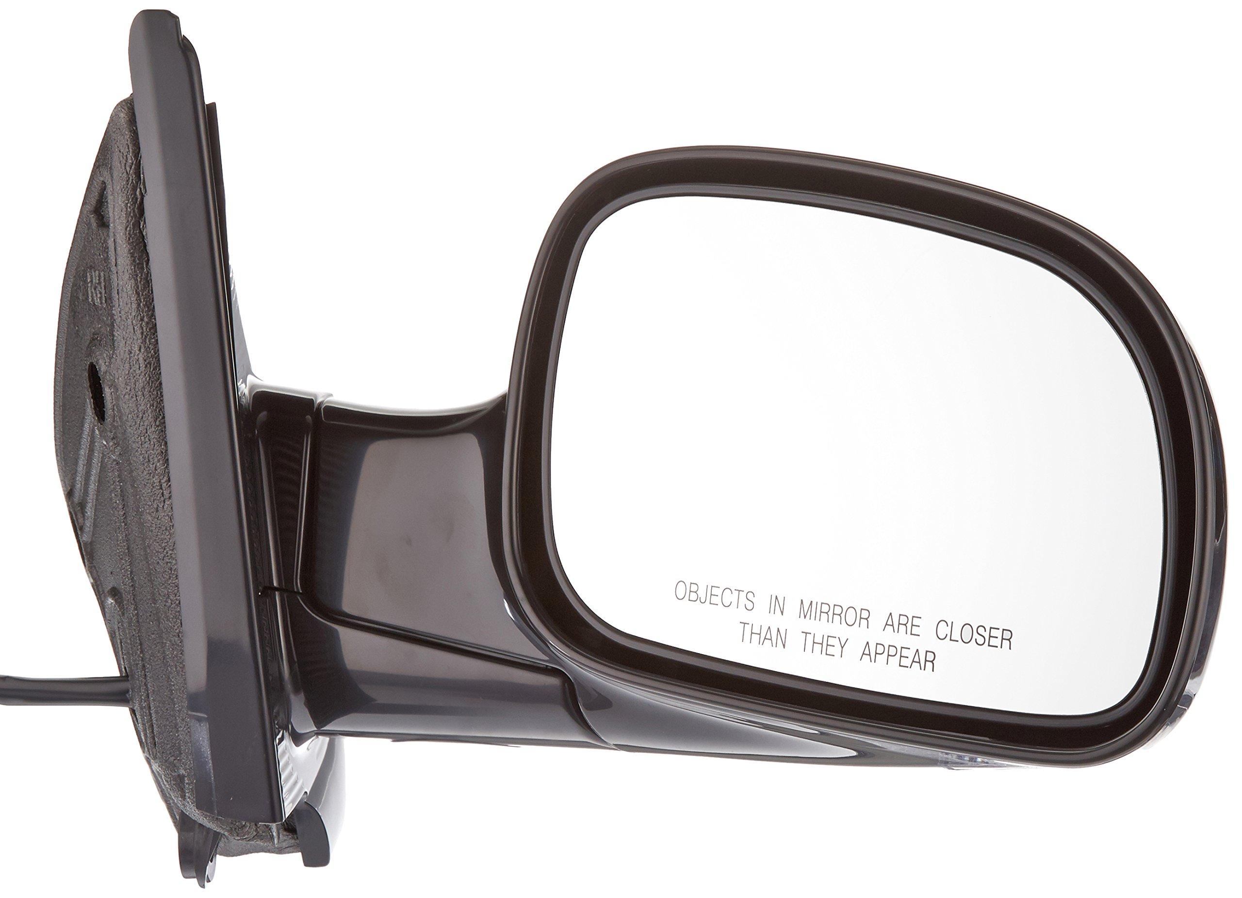 Depo 333-5403R3EBH Black Passenger Side Power Heated Mirror