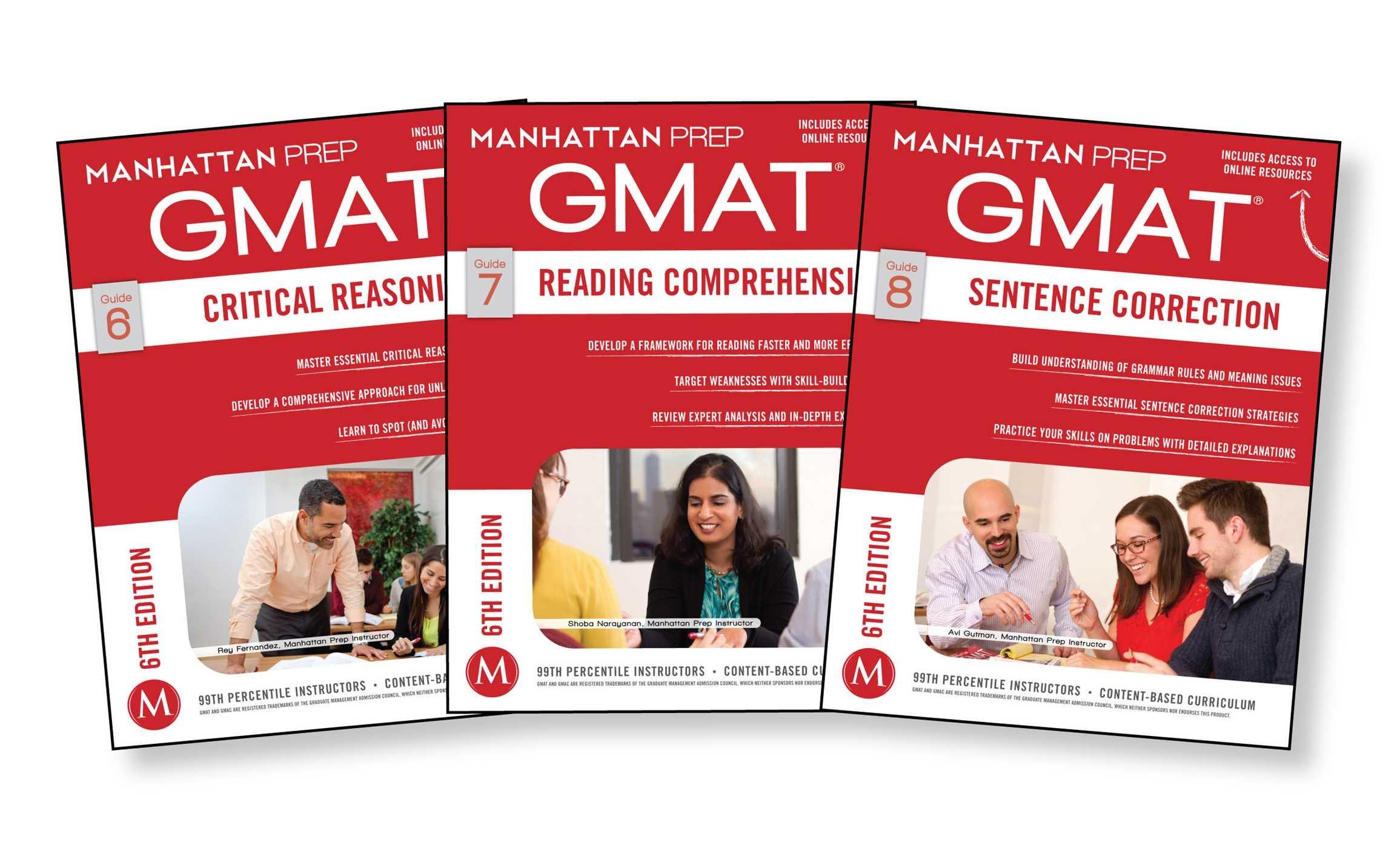 GMAT Verbal Strategy Guide Set  Manhattan Prep GMAT Strategy Guides