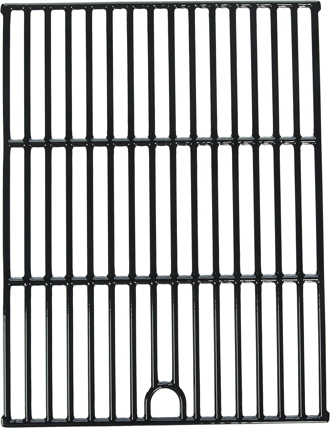 Music City Metals 66342 Gloss Cast Iron Cooking Grid Replacement for Select Gas Grill Models by Kenmore, Nexgrill and Others, Set of 2