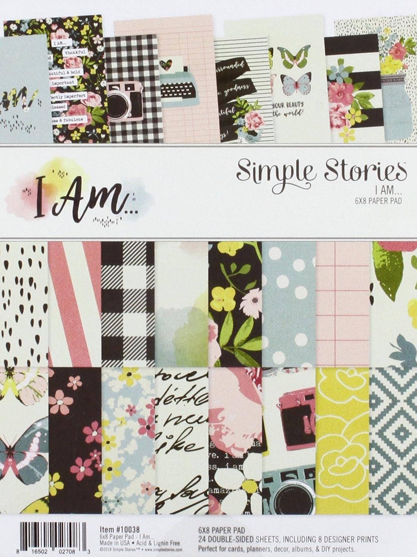 Simple 6x 8Paper Pad Simple Stories 10038