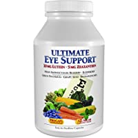 Andrew Lessman Ultimate Eye Support 60 Capsules - 10mg Lutein, 5mg Zeaxanthin, Bilberry, Key Nutrients to Support Eye Health and Promote Healthy Vision. No Additives. Easy to Swallow Capsules