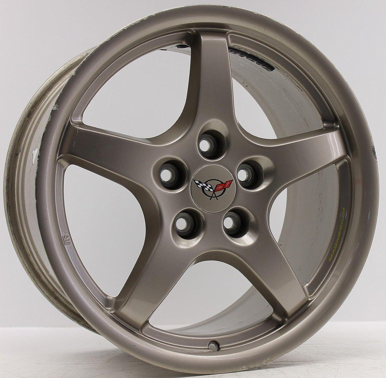 1 Original Corvette Magnesio Llanta Aluminio Llanta 9592639 9,5 x 18 ET65 sl1019 ef1196: Amazon.es: Coche y moto