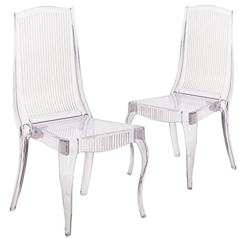 Stupendous Amazon Com Flash Furniture 2 Pk Flash Elegance Crystal Ice Bralicious Painted Fabric Chair Ideas Braliciousco
