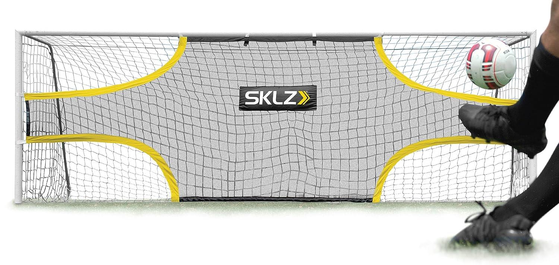 SKLZ Goalshot サッカーゴールターゲットネット スコアリングとフィニッシング用の視覚集中24フィート×8フィートの公式ゲームサイズのゴール用