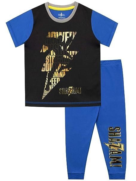 Amazon.com: DC Comics - Pijamas Shazam para niños: Clothing