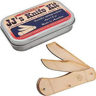 product image for Channel Craft, JJ's Pocket Knife, Wood Craft Kit, Wooden Pocket Knife