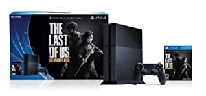 PlayStation 4 1TB Console with The Last of Us Remastered Game Bundle (Renewed)