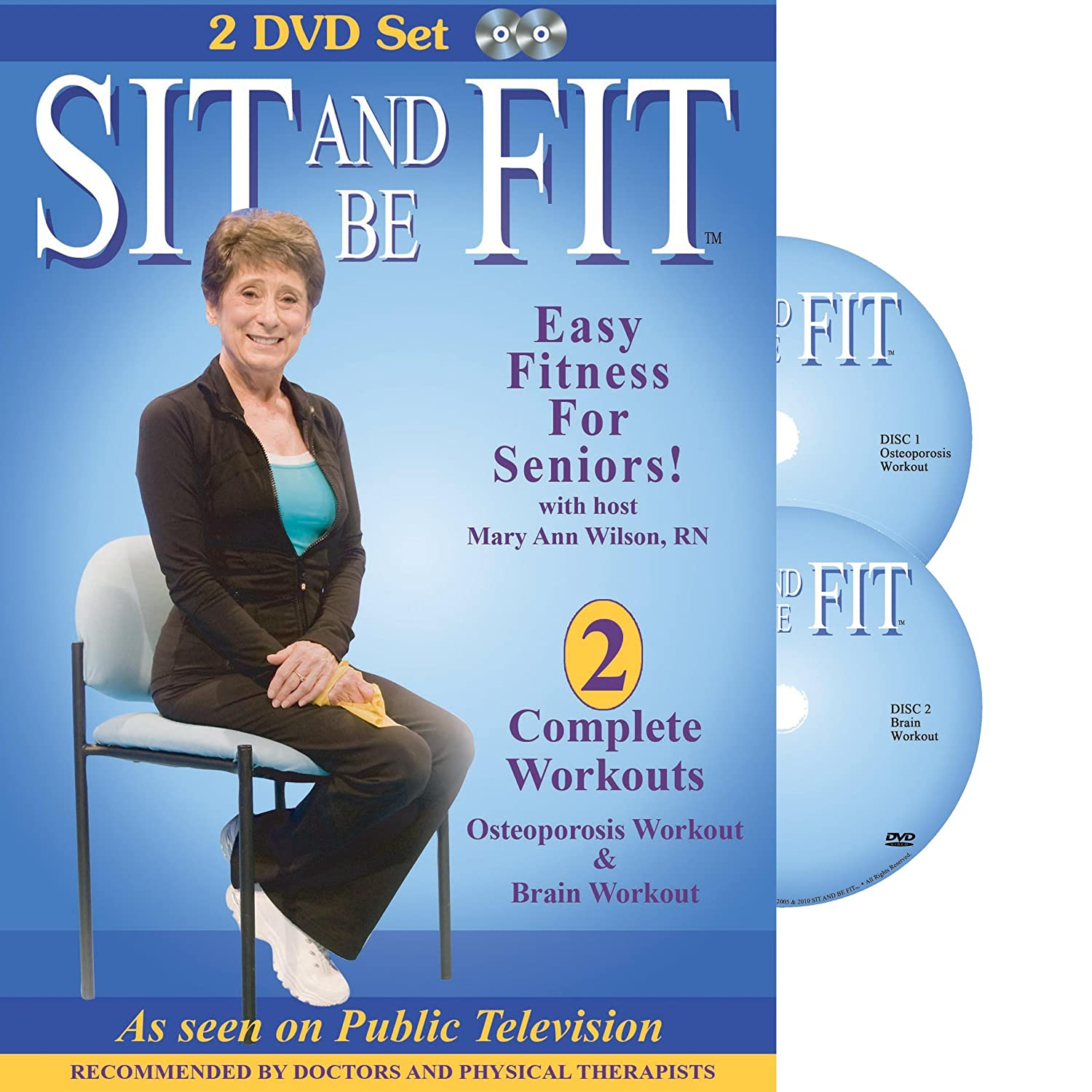 Mary Morris Chair Aerobics: Sit And Be Fit Workouts