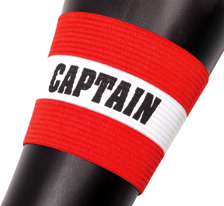 OPTIMUM Brassard Capitaine Homme Taille Unique Mens Rouge Red