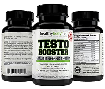Amazon Com Top Quality Natural Testosterone Booster 1760 Mg Per
