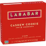 Larabar, Gluten Free Bar, Fruit & Nut, Cashew Cookie, Vegan (5 Bars)