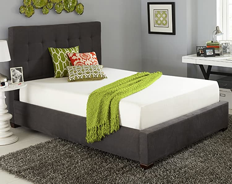 Live And Sleep – Resort Sleep Classic, Queen Size 10 Inch Cooling Medium Firm Memory Foam Mattress With Premium Foam Pillow
