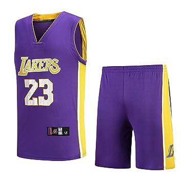 Ropa de Baloncesto para Hombre, Lakers # 23 James 2019 ...