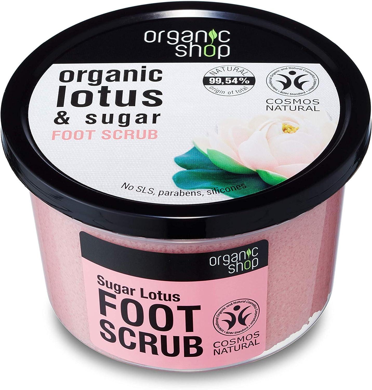 Organic Shop Azúcar de Loto Exfoliante para Pies - 250 ml