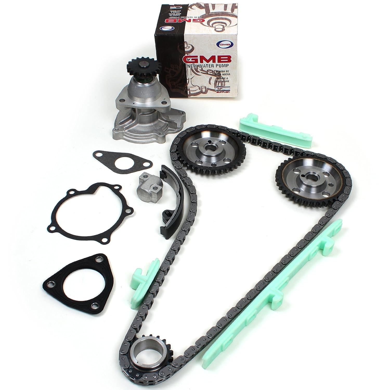 New Tk5010wp Timing Chain Kit Water Pump Set Gmb For 2001 Oldsmobile Alero 2 4 L Twin Cam 24l 146cid 2392cc Dohc Ld9 Vin Code T Automotive