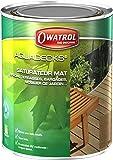 Owatrol Aquadecks Saturateur mat à l'eau tous bois 1 L Teck
