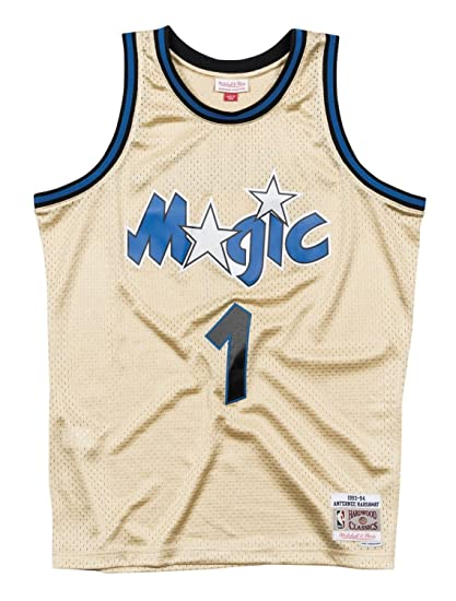 6837a7ec2 Image Unavailable. Image not available for. Color  Mitchell   Ness Anfernee  Hardaway Orlando Magic NBA Throwback Jersey ...