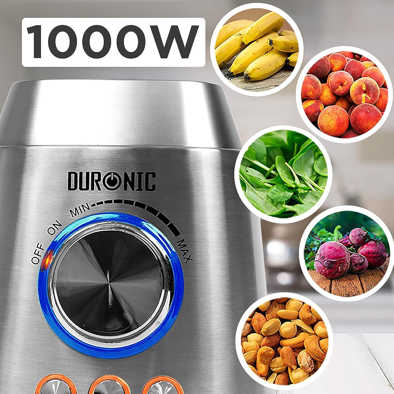 Duronic BL102 Batidora de Vaso Americana de 1000 W de Acero ...