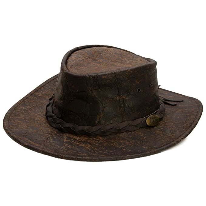 Sombrero de Piel Explorer by Jacaru sombrero de hombresombrero de piel   Amazon.es  Ropa y accesorios 46ce45fb561