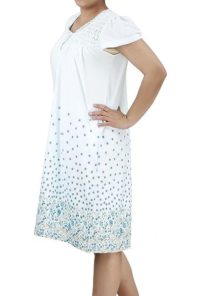041ba9e5f2 Women s Short Sleeve Cotton Nightgown