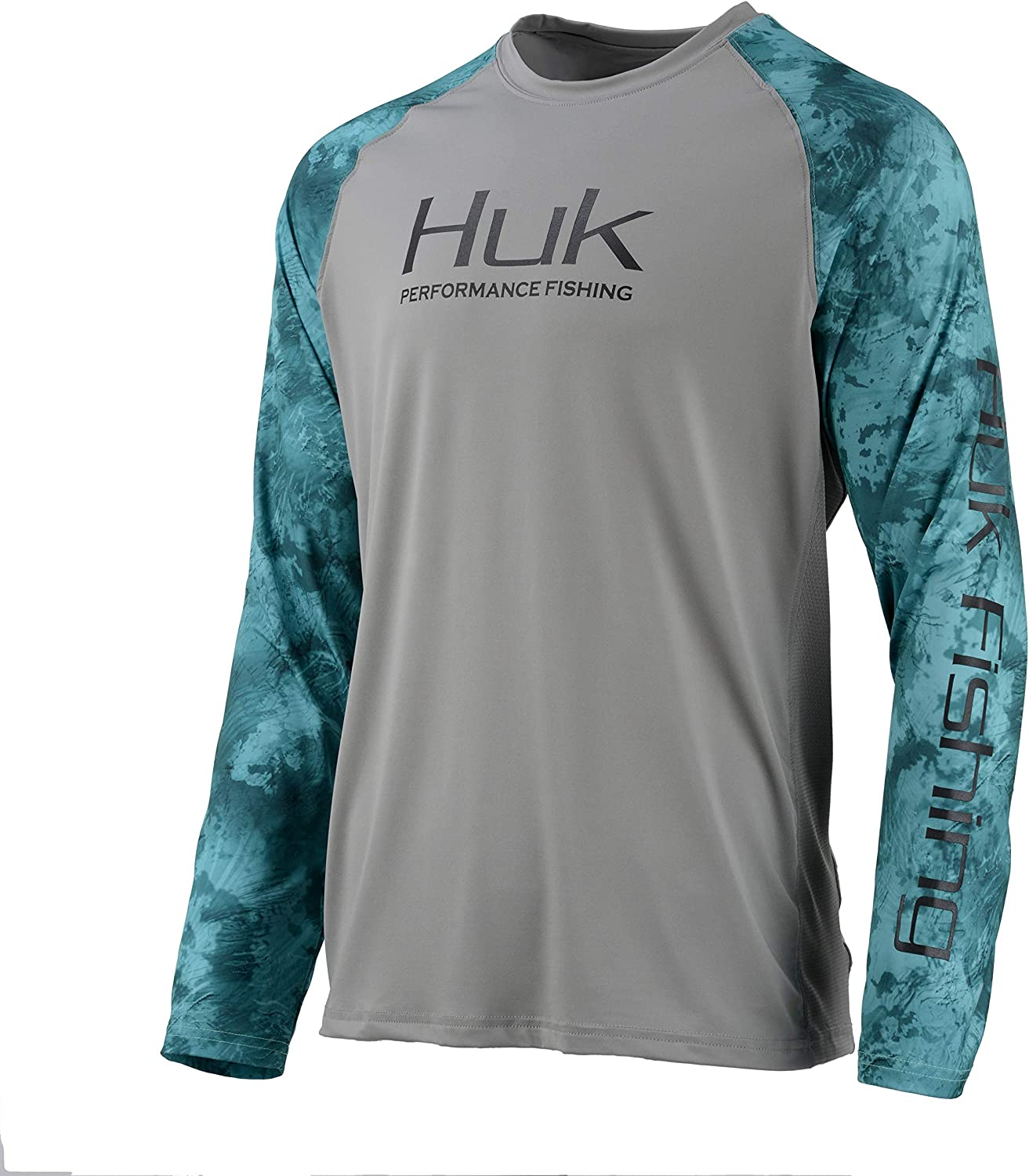 HUK Double Header Vented Long Sleeve Shirt Long Sleeve