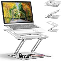 Adjustable Laptop Stand Oli & Ode Table Stand Portable Ergonomic Notebook Stand with Heat-Vent, Heavy Duty Laptop Holder…