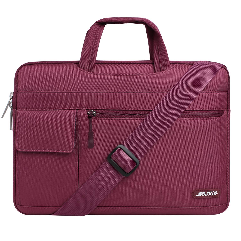 MOSISO Bolsa de Hombro Compatible 15-15.6 Pulgadas MacBook Pro/Pro Retina/DELL Lenovo HP Acer ASUS Samsung Sony Chromebook/Ultrabook/Notebook, ...