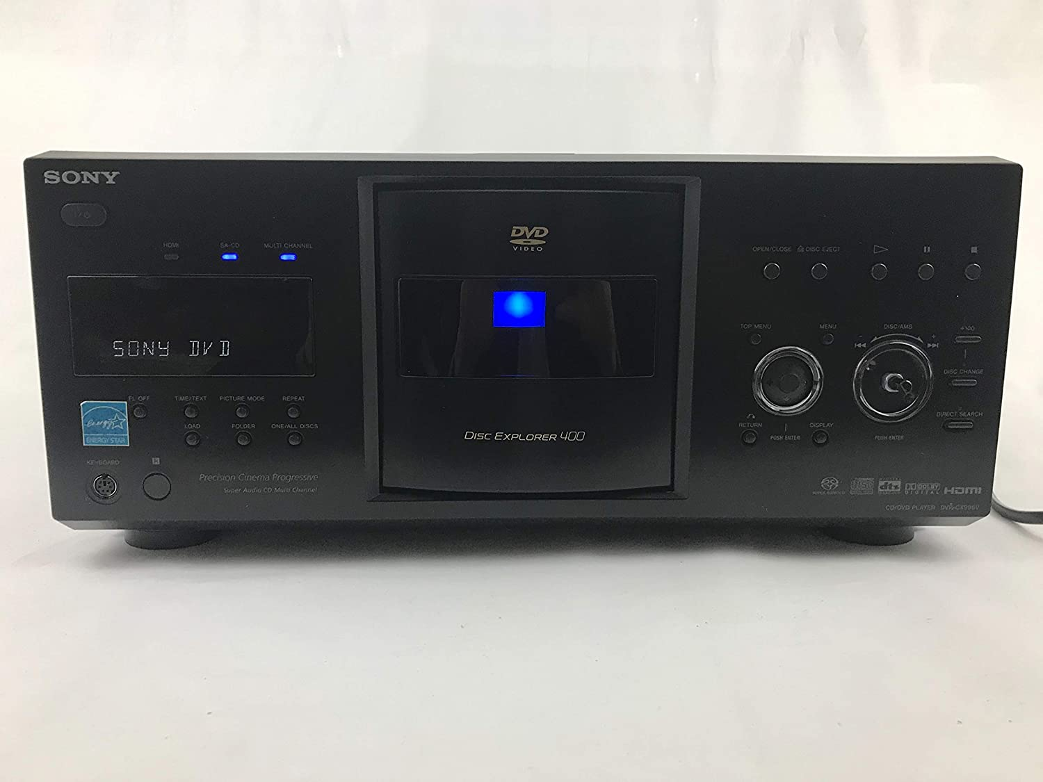 Sony DVPCX995V 400-Disc DVD Mega Changer/Player (2009 Model)