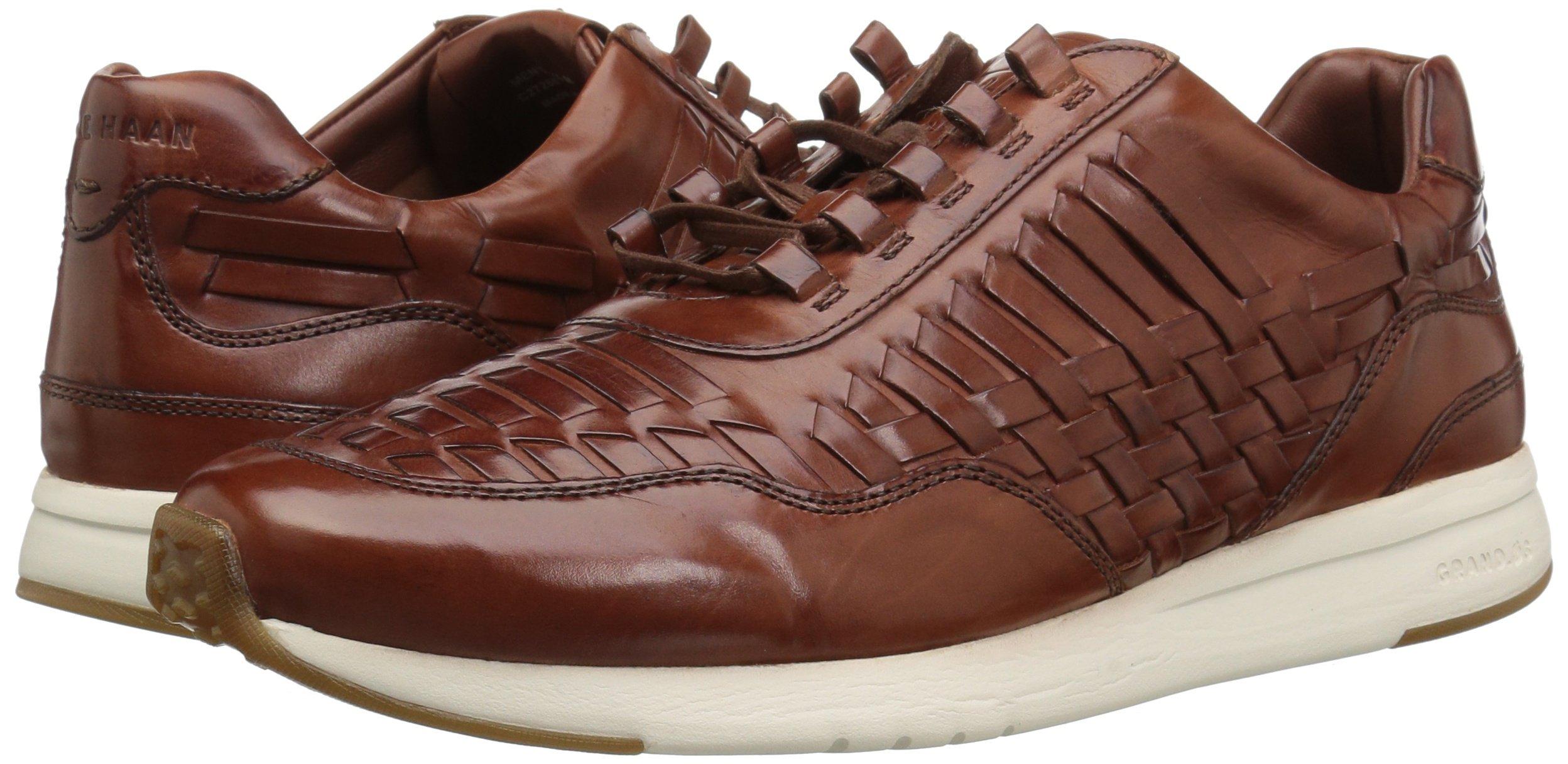 Cole Haan Men's Grandpro Runner Huarache Sneaker, Woodbury Woven Burnish, 12 Medium US by Cole Haan (Image #5)