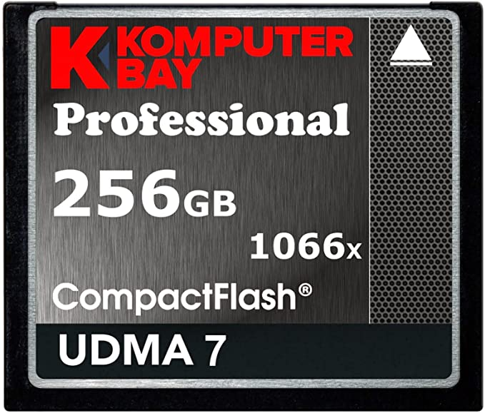 Komputerbay 256gb Professional Compact Flash Card 1066x Cf Write 155mb S Read 160mb S Extreme Speed Udma 7 Raw