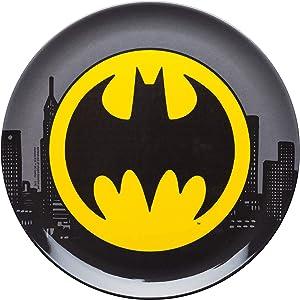 Zak Designs Batman 10in Durable Melamine Plate, Batman Core