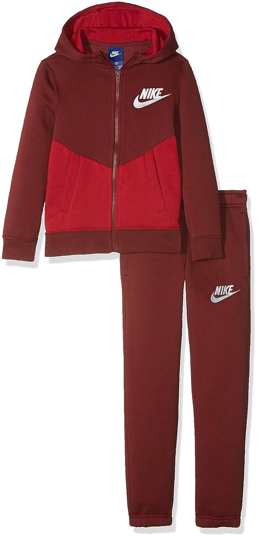 Nike B NSW TRK Suit BF Core Tuta amazon grigio Pile