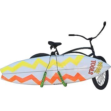 COR Surf Soporte para Tabla de Surf para Bicicleta, Ideal para IR a la Playa.: Amazon.es: Deportes y aire libre