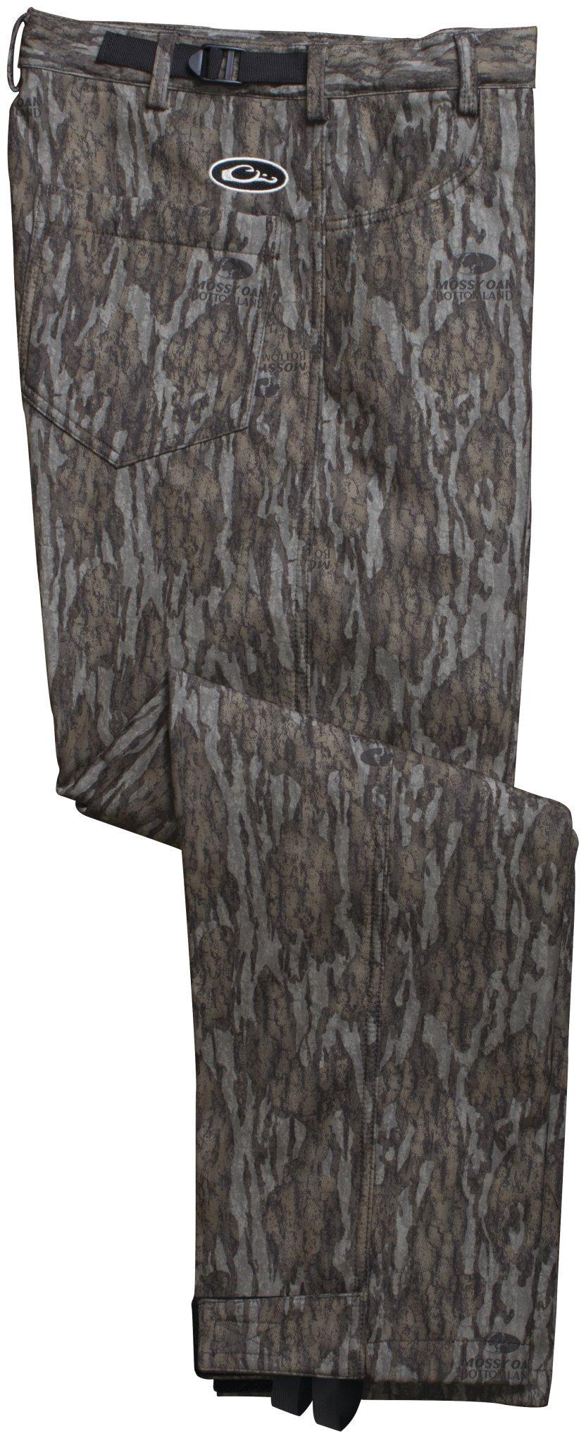 Drake MST Waterproof Mossy Oak Bottomland Bonded Fleece Pant, Small
