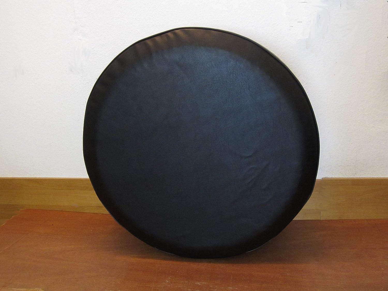 AB3-00248 SCHWARZ Reserveradabdeckung 64x22 cm aus Kunstleder Reserveradh/ülle Ersatzradabdeckung Reifencover Radh/ülle /Überzieher Diameter 64cm 25/´/´ Width 22cm 8/´/´ 1//2