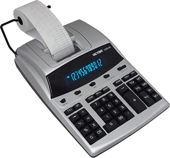 Amazon.com: 1240 – 3 A Antimicrobial Printing Calculator ...