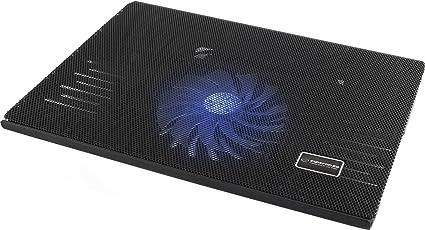 Esperanza EA142 Soporte para Ordenador portátil Negro - Soporte de Regazo para portátiles y netbooks (
