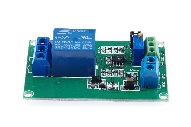 Knacro 1 Way 12v Voltage Comparator Module Lm393 Toy Car Remote Control Circuit Diagram Automotivecircuit Ic For Automotive Modification Industrial Equipment