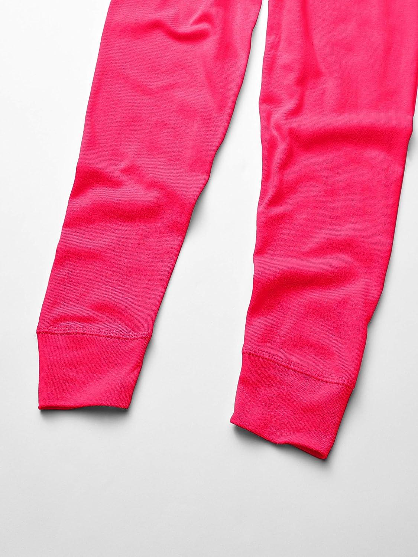 AquaGuard Girls Big Baby Rib Pajama Pant-3 Pack