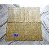 Urancia Real Raw Kusha Dharba Aasan Big Size or Meditation Mat for Yoga as Well as Ritual 3ft 6inch/3ft 4inch in Raw Form for Pooja No Other Grass