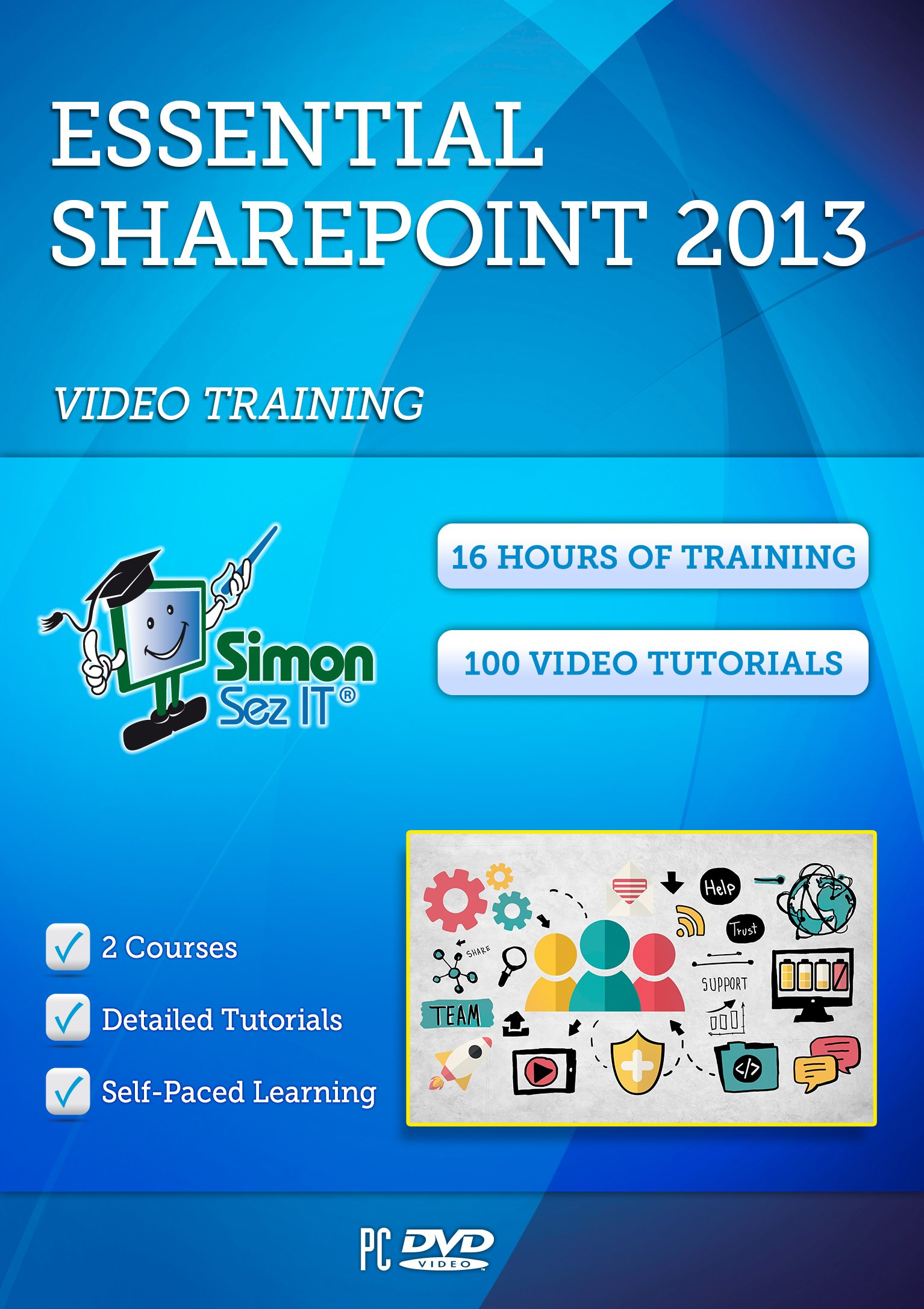 Learn SharePoint 2013 Training Tutorials - 16 Hours of SharePoint 2013 Training by Simon Sez IT