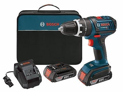 Bosch DDS181-02 18-Volt Compact Drill/Driver Kit