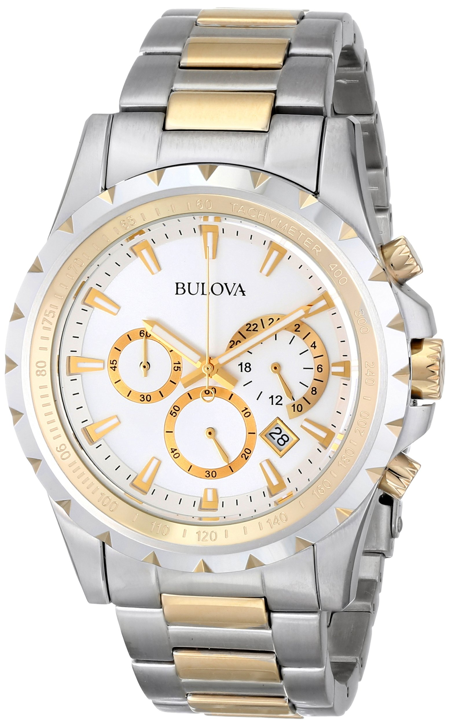 Bulova Men's 98B014 Marine Star Stainless Steel Chronograph Watch