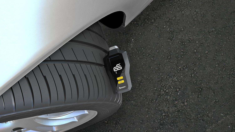 MICHELIN 12293 Digital Tire Tread Depth and Pressure Gauge with Flashlight