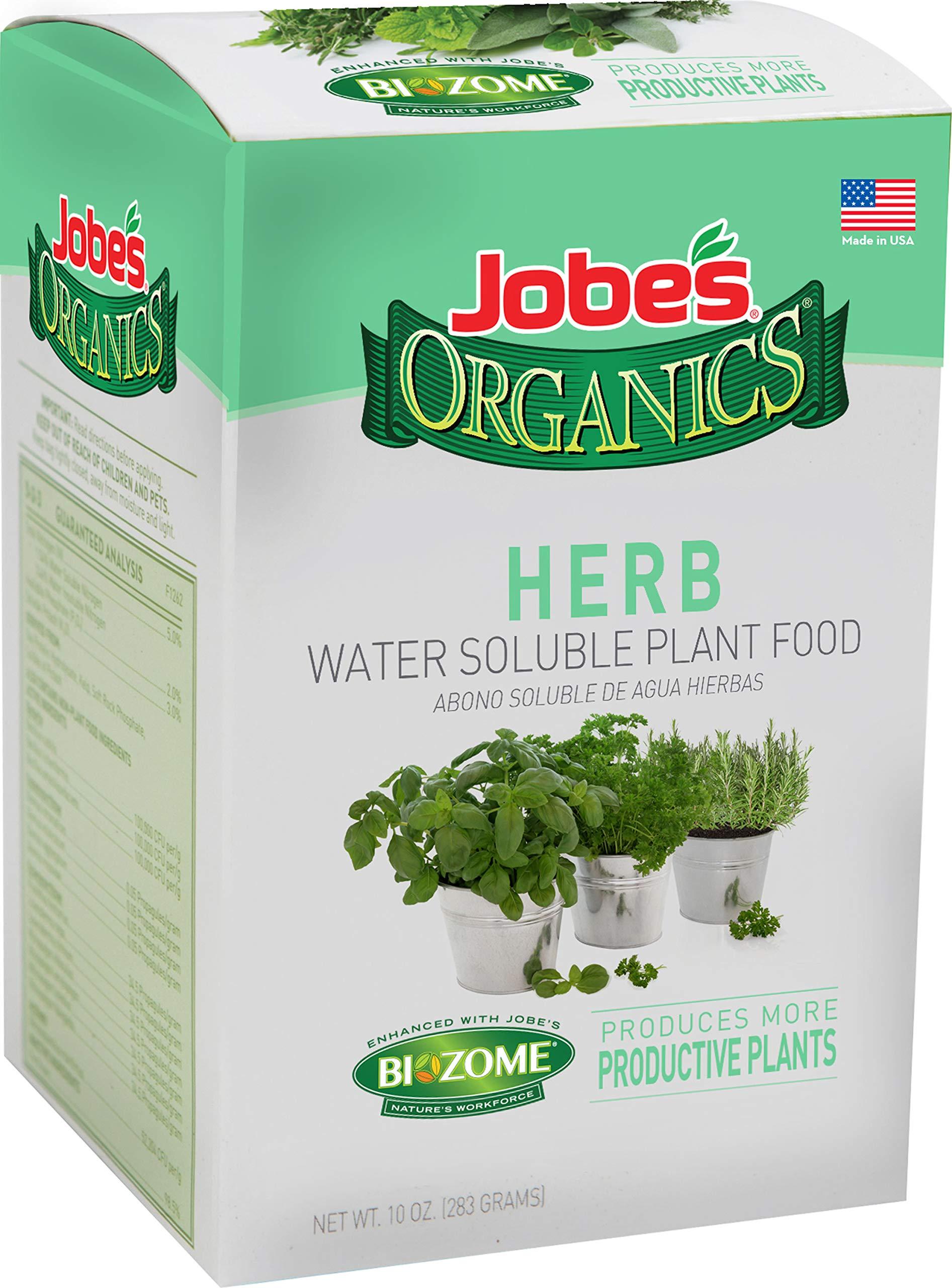 Org Herb Plant Food 10oz