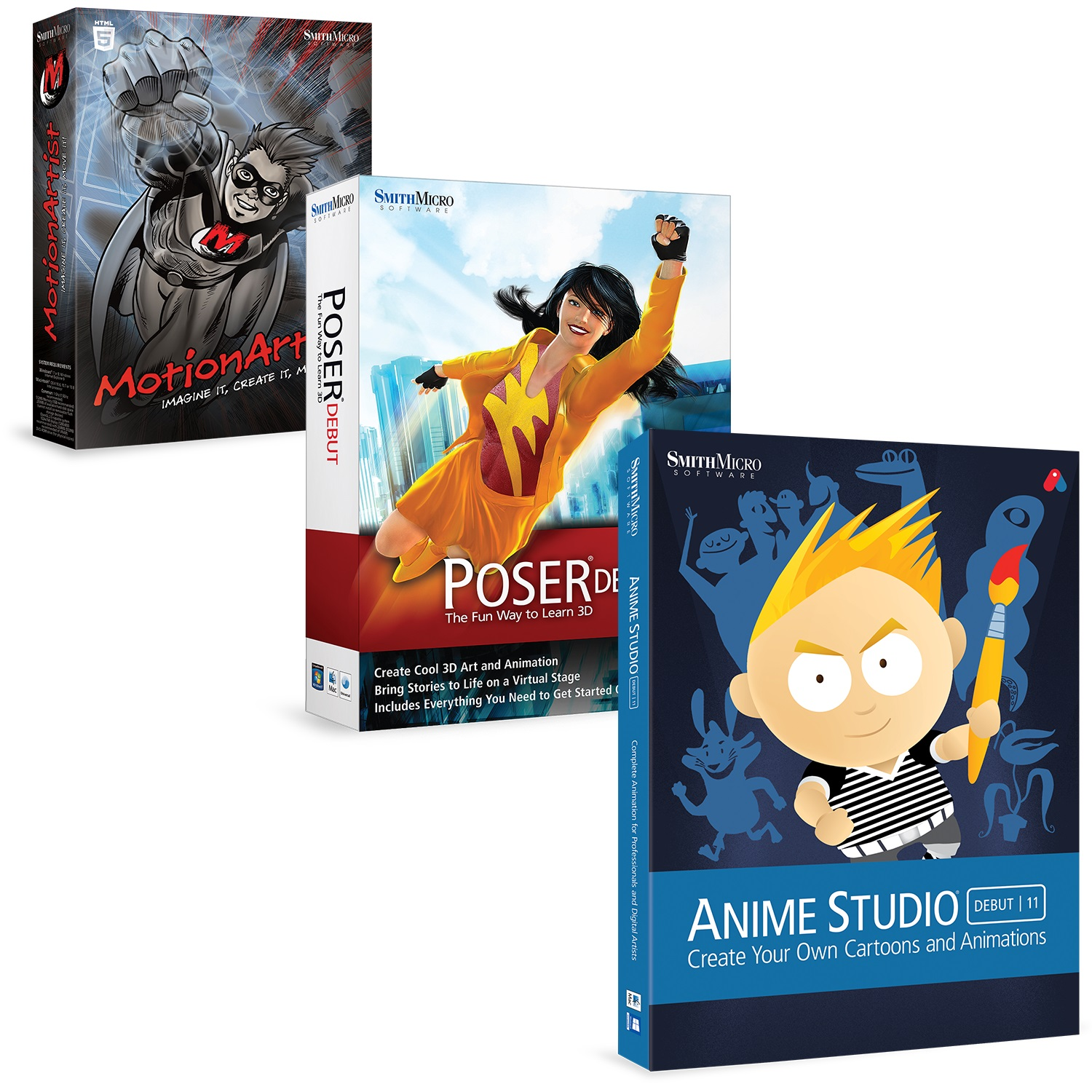 The Animation Bundle [Download] by Smith Micro Software, Inc.